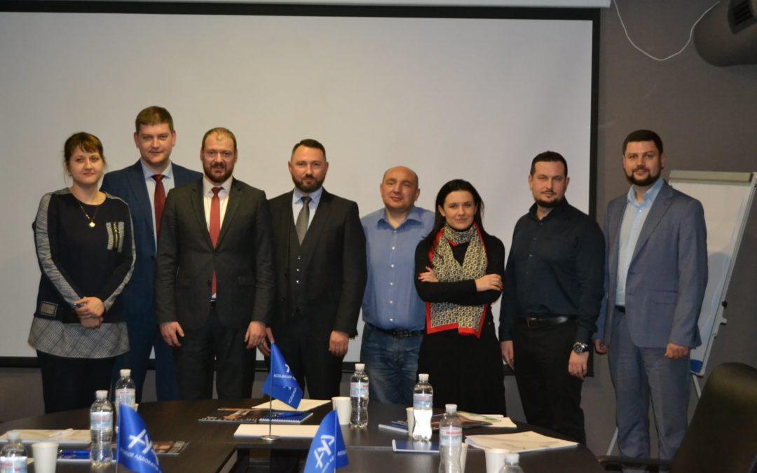"""Адвокати АО """"Вдовичен та партнери"""" взяли участь у засіданні комітету ААУ із захисту бізнесу, активів та прав інвесторів"""