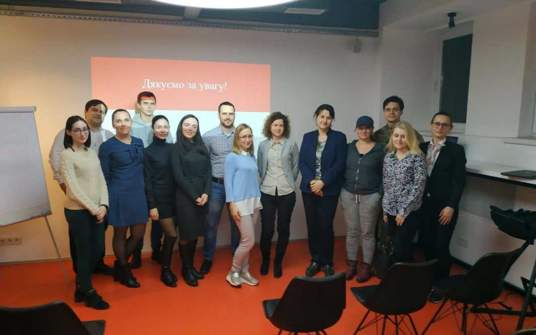 Марія Золотарьова прочитала лекцію у Академії консалтингового бізнесу