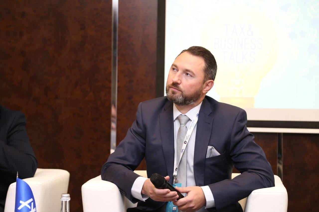 Олег Вдовичен виступив модератором на ІІІ Податковому форумі ААУ
