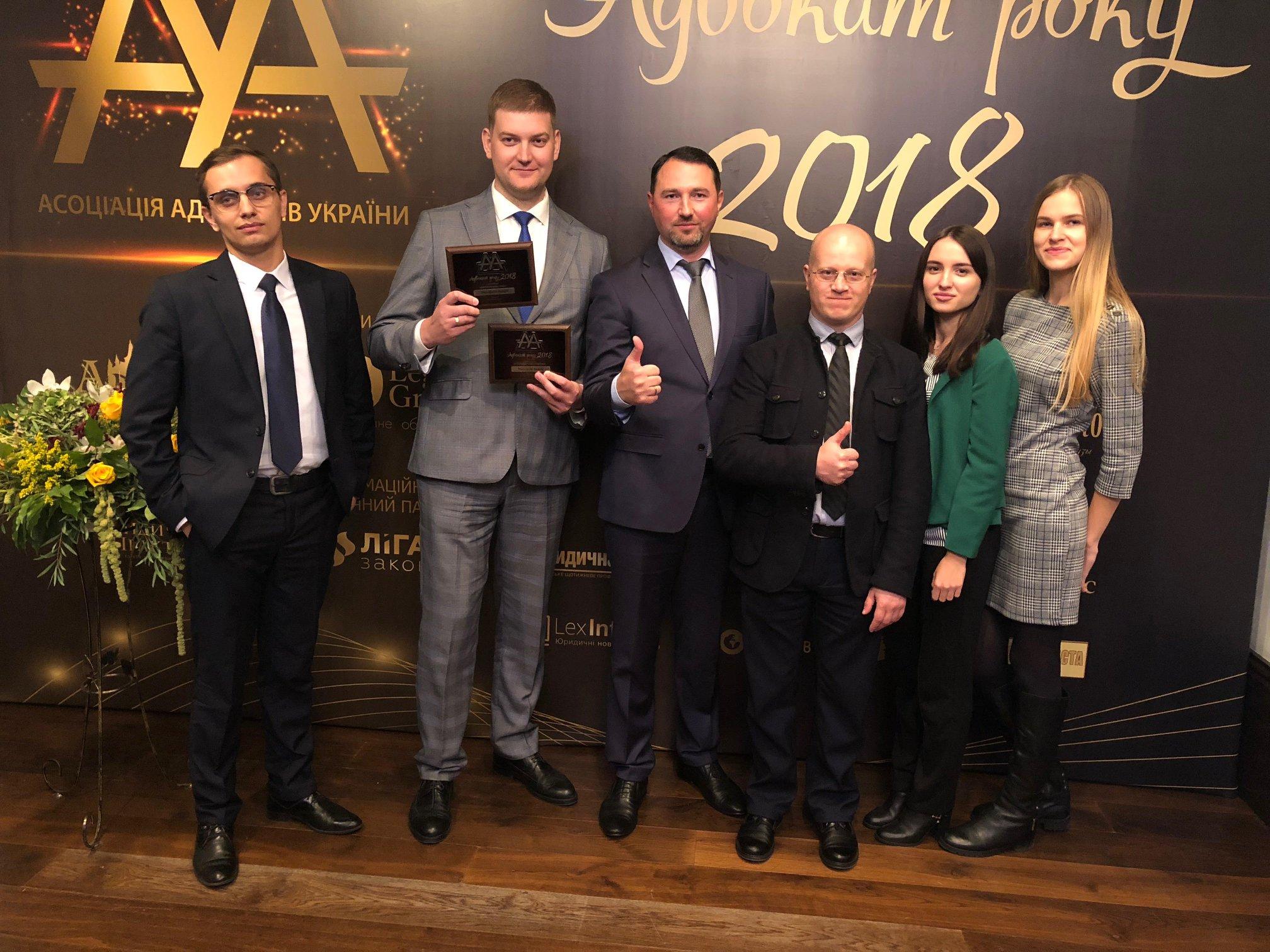 Андрій Молчанов отримав звання «Кращий адвокат у корпоративному праві» та «Кращий адвокат у антирейдерській практиці»